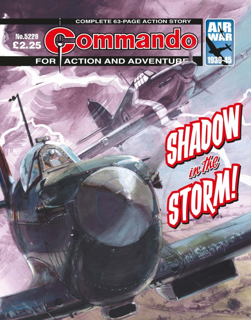 Commando 5229: Action and Adventure: Shadow in the Storm!