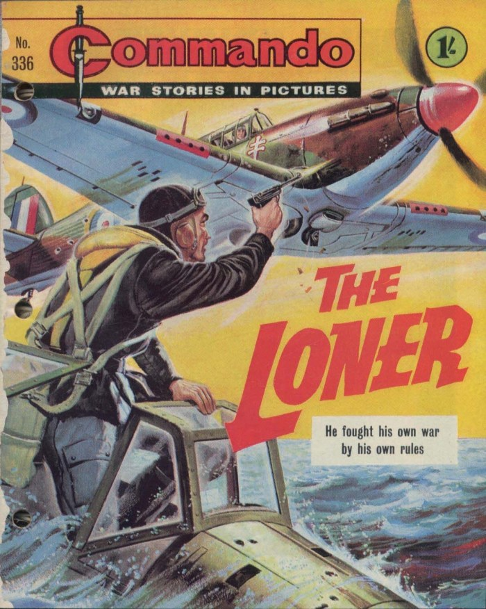 """The Loner"", published back in 1968, was Mary Feldwick's first story for Commando - one of the comic's few female authors until now"