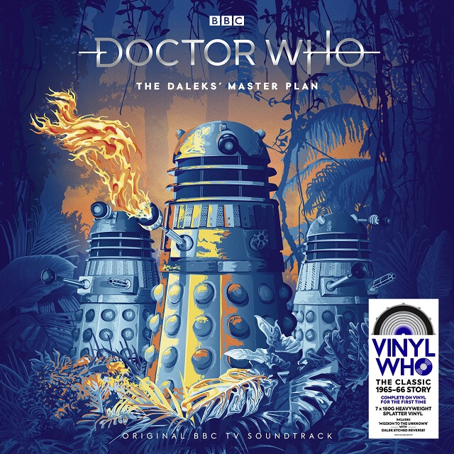 Demon Records - The Daleks' Master Plan