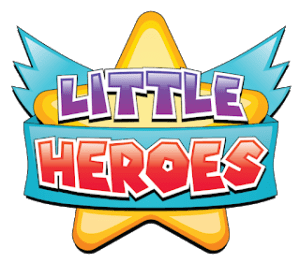 Little Heroes Comics Logo