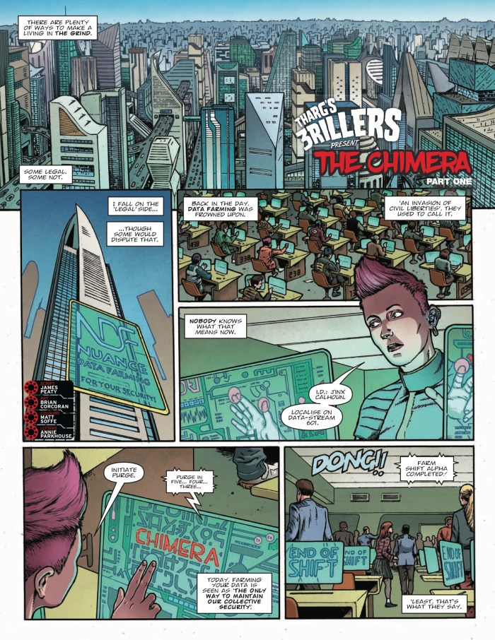 2000AD 2031 - Tharg's 3rillers Present » The Chimera