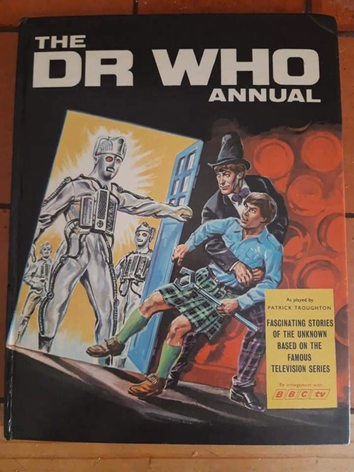 1969 Doctor Who Annual Cover by Walt Howarth
