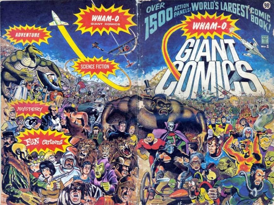 Wham-O Giant Comics #1 - Wraparound Cover