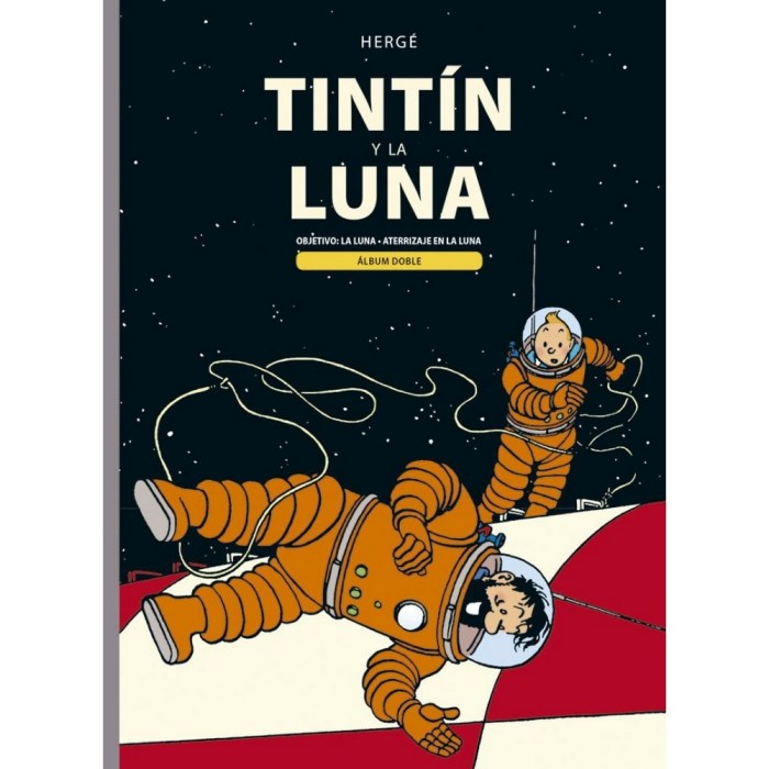 Tintin on the Moon - French Edition