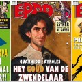 Recent issues of EPPO, including the latest issue with its Asterix cover