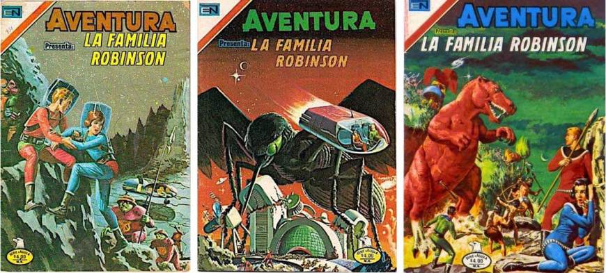Space Family Robinson in Mexico, appearing in Aventura from 1979 onwards