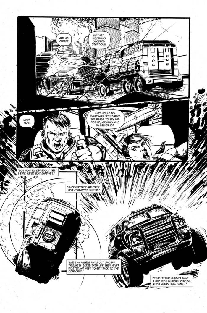 Black North by Mark McCann and Steven Austin - Preview