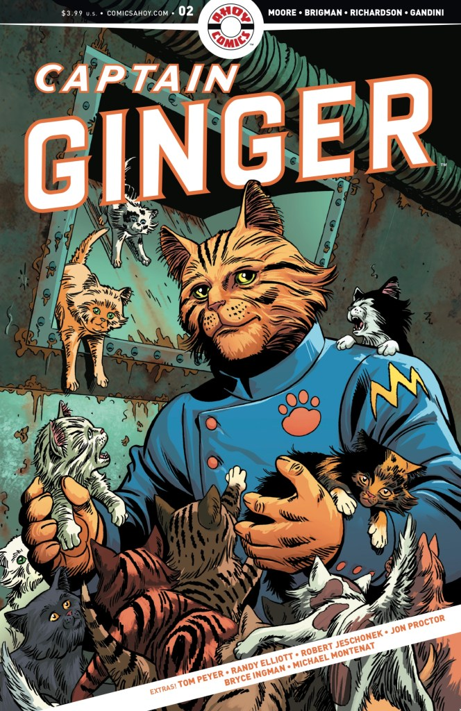 Captain Ginger #2 - Cover