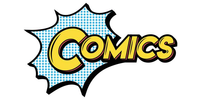 Comics: Explore and Create Comic Art Exhibition Logo