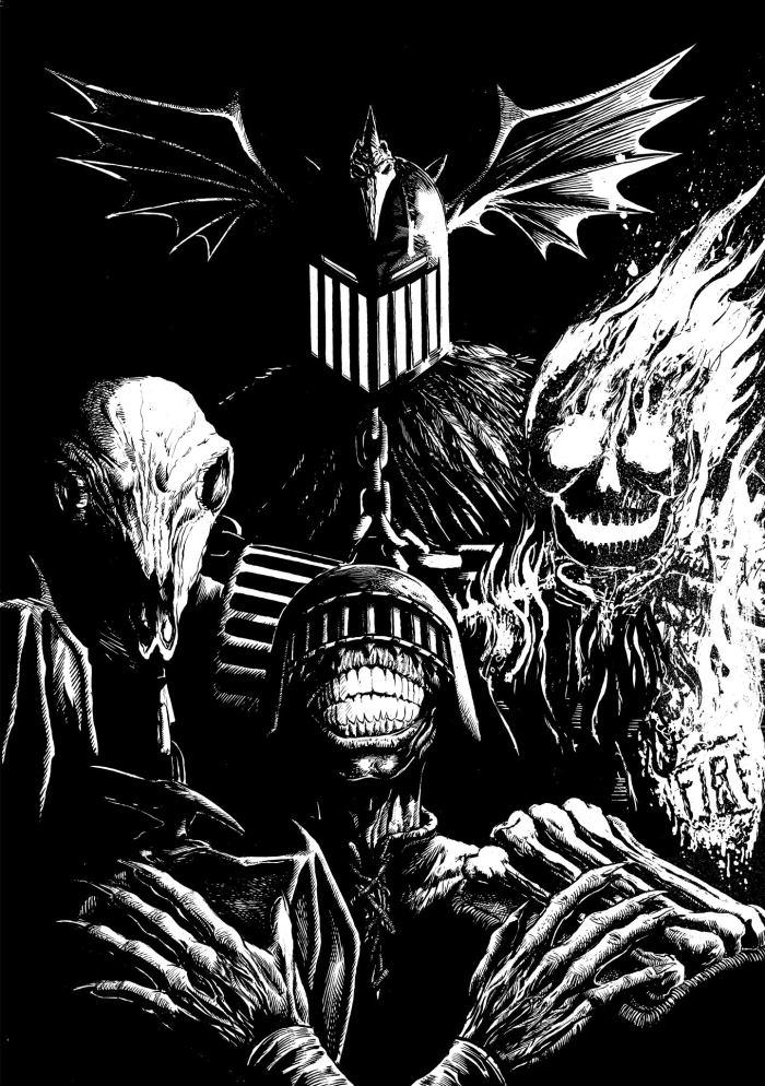 Dark Judges by Steven Austin