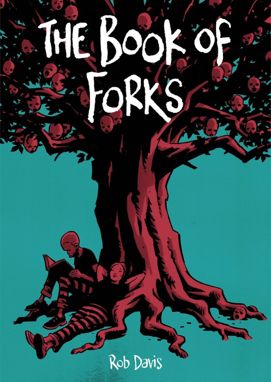 The Book of Forks by Rob Davis - Cover