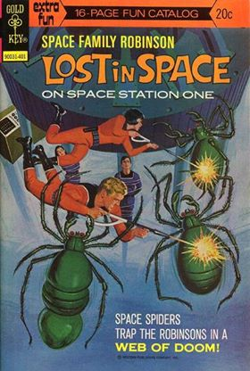 Space Family Robinson, Lost in Space on Space Station One #38 (1974, Western)
