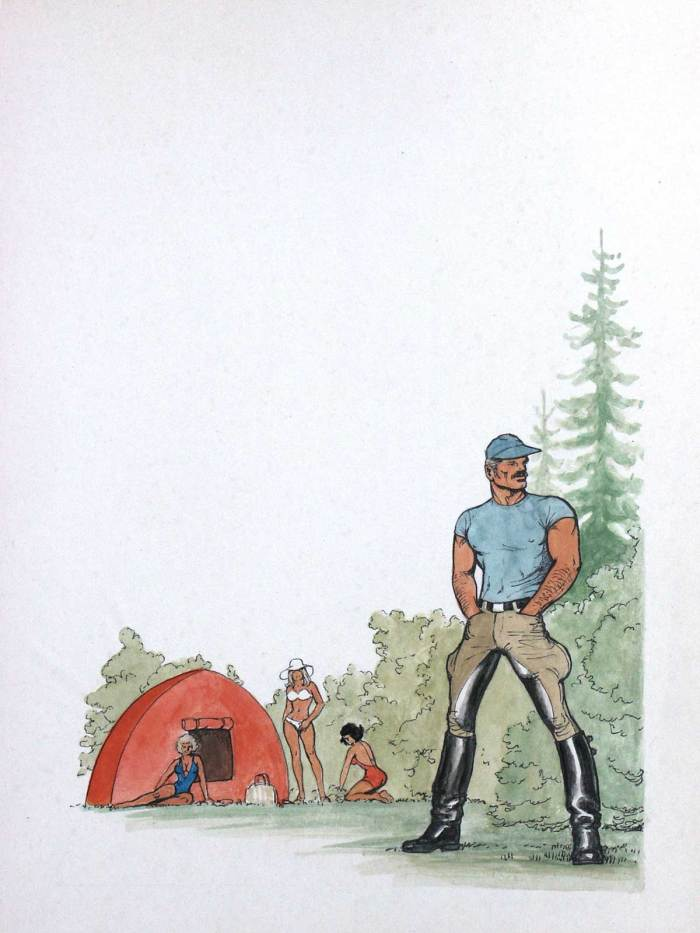 Art from Camping by Tom of Finland