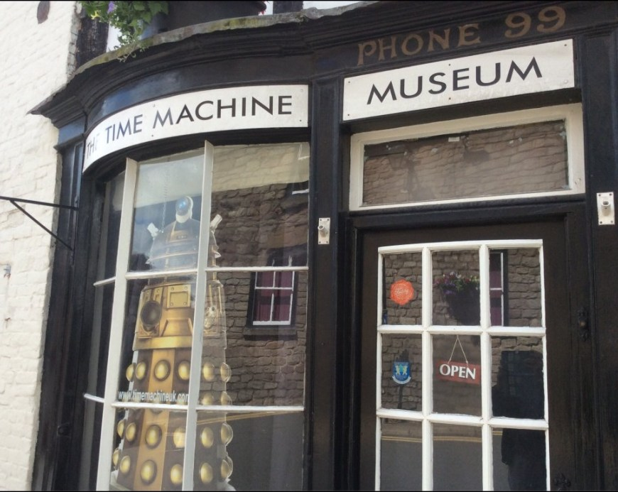 Photo: The Time Machine Museum of Science Fiction