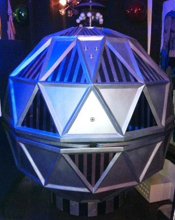 Bromyard's Science Fiction Museum is home to the last surviving Mechanoid, featured in the First Doctor story The Chase. Photo: The Time Machine Museum of Science Fiction