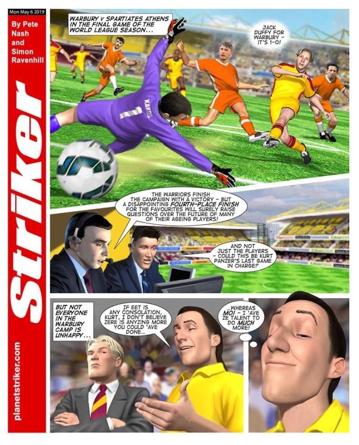 Striker Comic - 2019 Strip