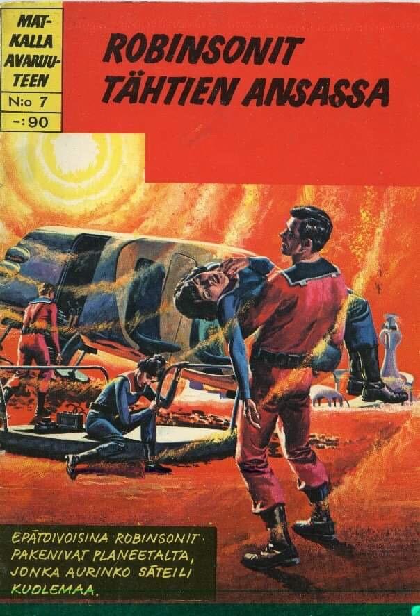 Finland: Matkalla Avaruuteen #7 (1968)