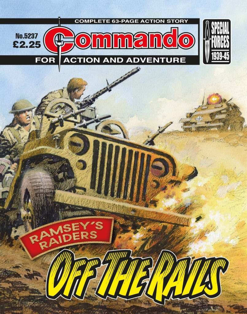 Commando 5237 Action and Adventure: Ramsey's Raiders: Off The Rails