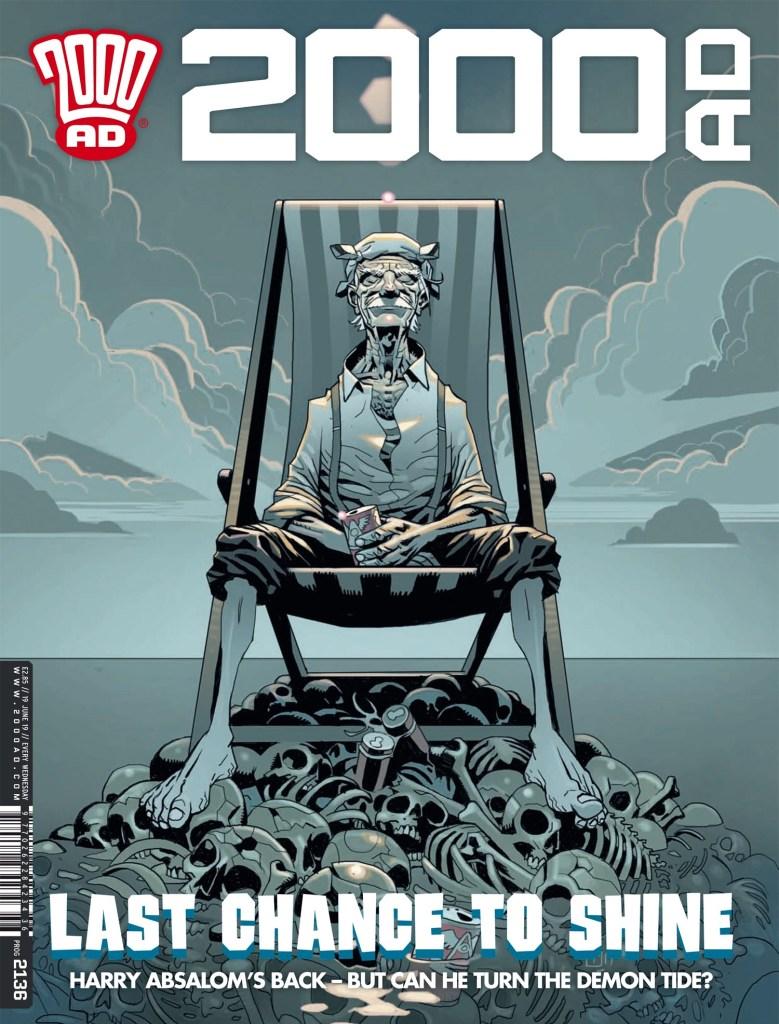 2000AD Prog 2136 - Cover