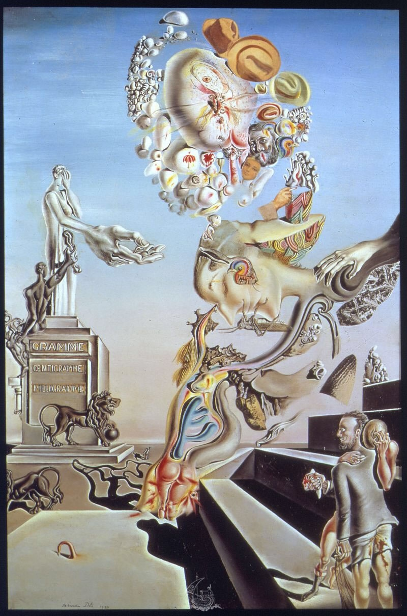 """The Lugubrious Game"" (1929) by Salvador Dali"