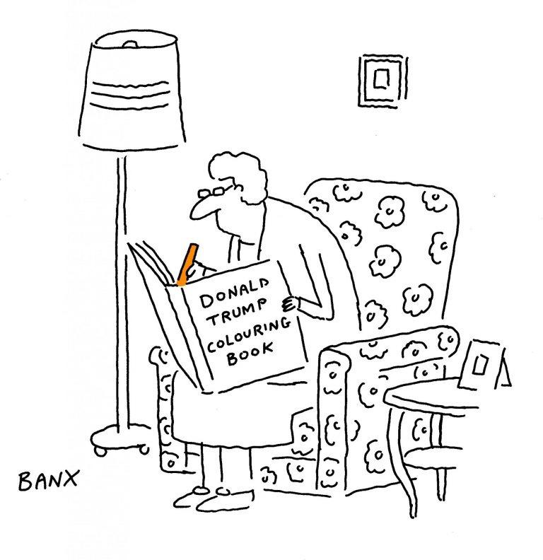 Cartoon by © Jeremy Banx