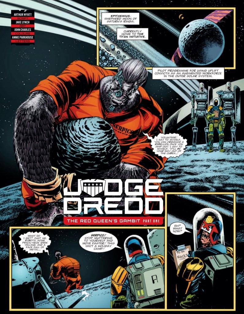Judge Dredd Megazine 409 - Judge Dredd