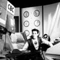 "Recording a scene of ""Space Command"". Image: CBC"