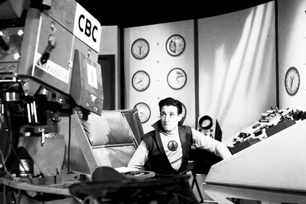 "Recording a scene of ""Space Command"". Image: CBC"