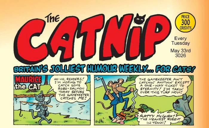 Catnip by Lew Stringer