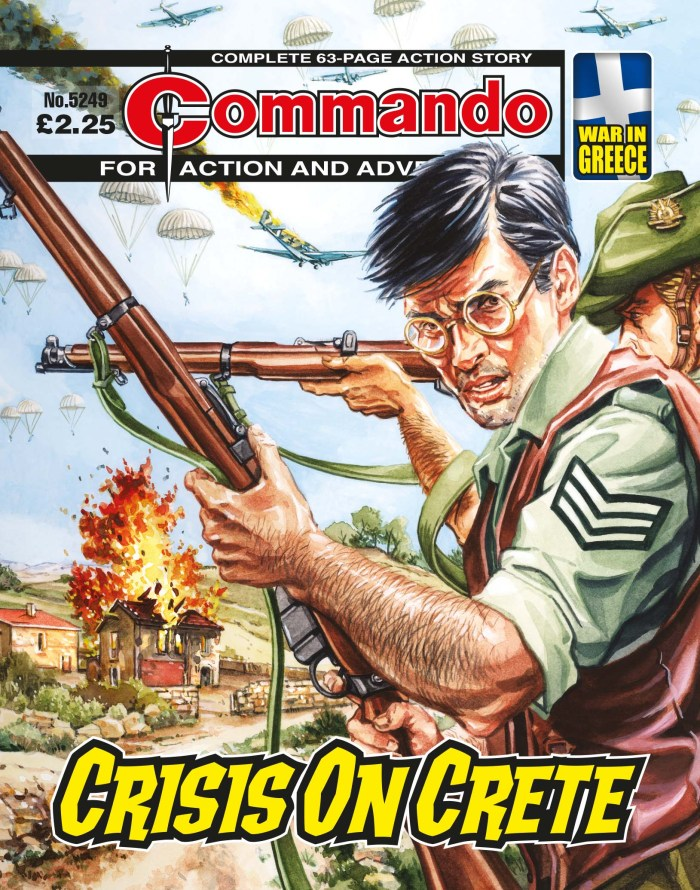 Commando 5249: Action and Adventure - Crisis on Crete