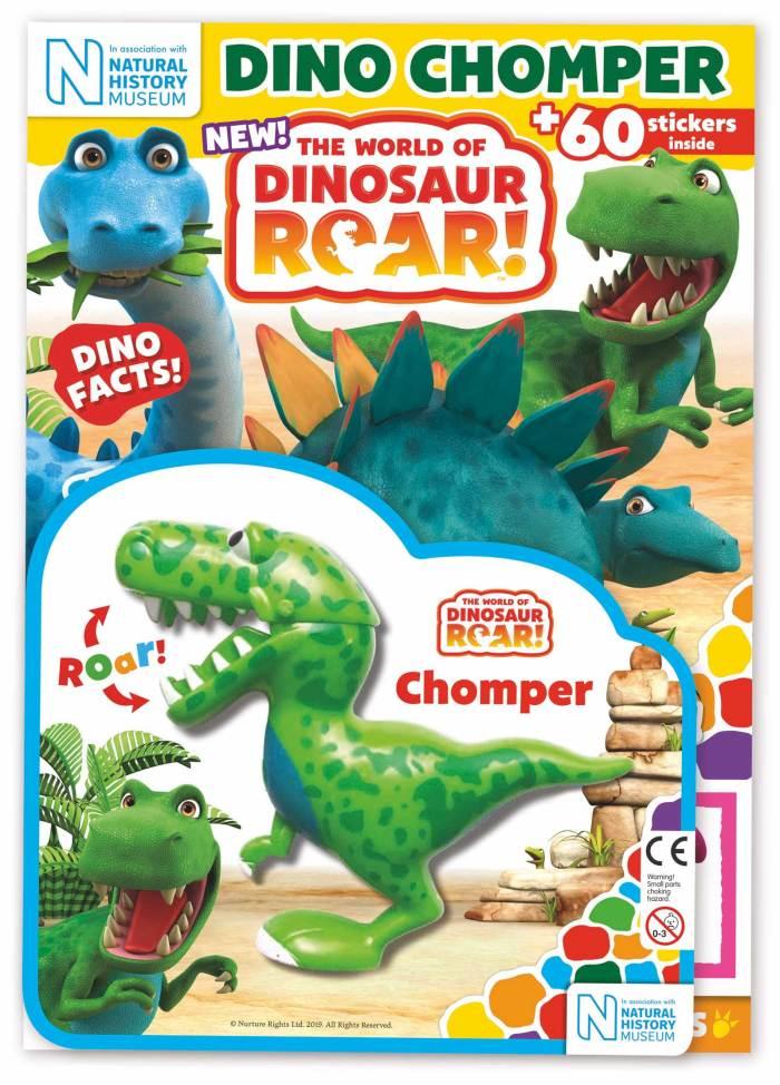 World Of Dinosaur Roar! magazine