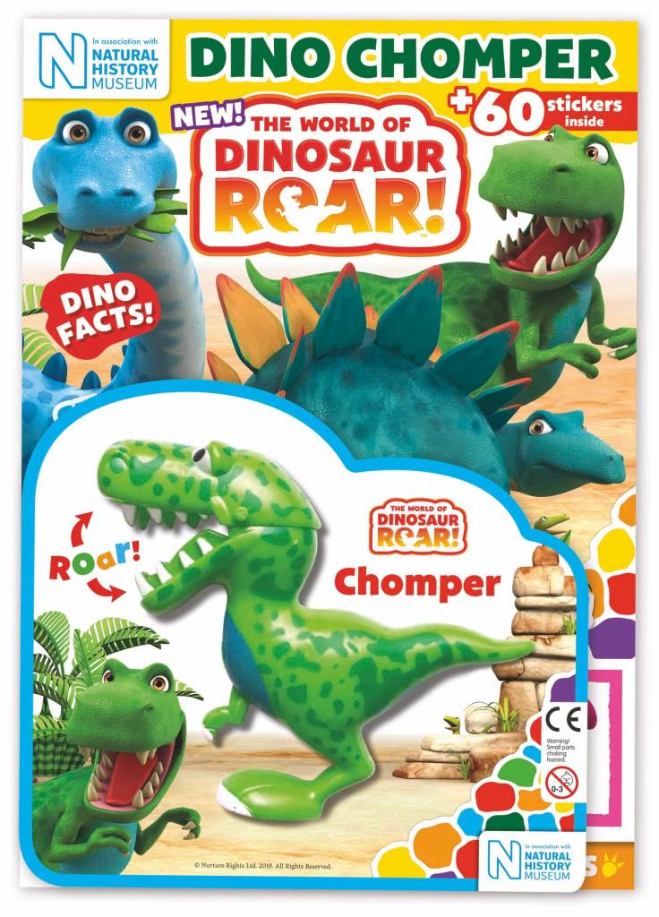 World Of Dinosaur Roar! magazine