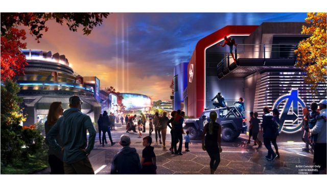 Disney Parks hinted its revamped Marvel offering would include new rides inspired by Spider-Man, Doctor Strange, Ant-Man & the Wasp, and the Avengers in a blog post last year. Image: Disney
