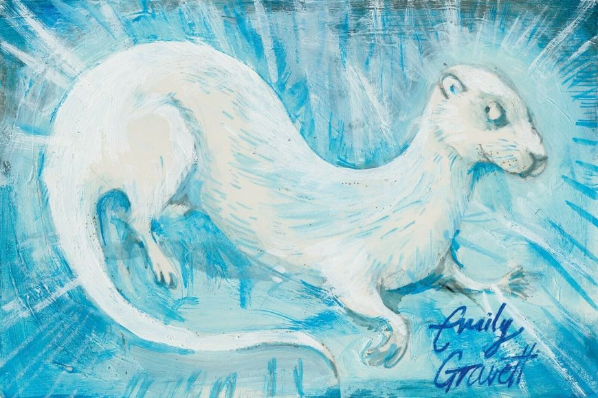 Patronus on a Postcard by Emily Gravett