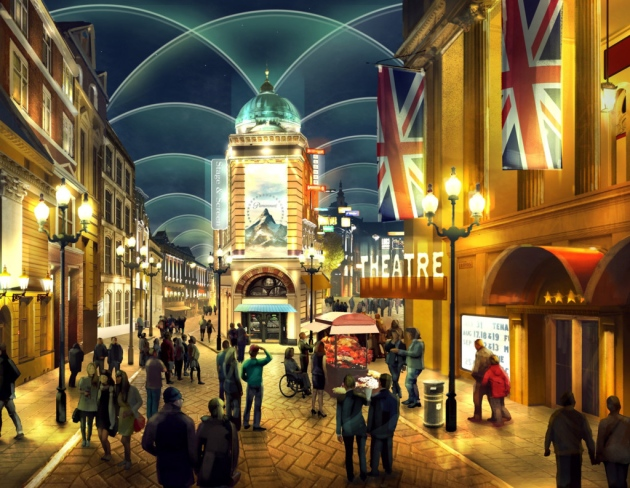 What The London Resort could look like now Paramount is back on board as a partner. Picture: The London Resort