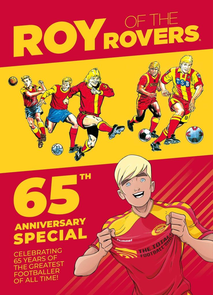 Manchester's National Football Museum's 65th anniversary Roy of the Rovers exhibition opens next week