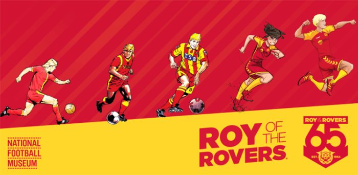 Roy of the Rovers Exhibition 2019 - Football Museum