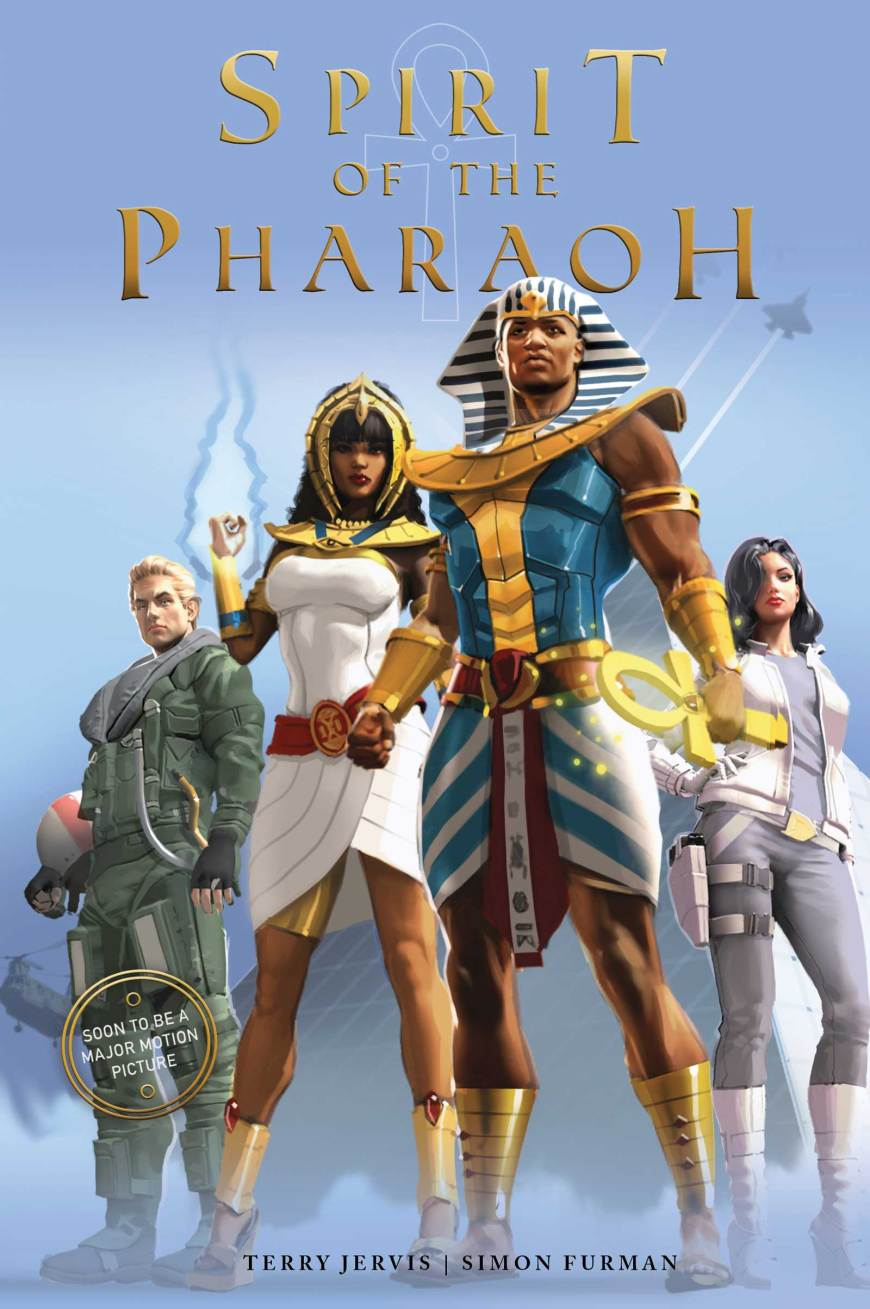 Spirit of the Pharaoh graphic novel lays ground for new feature film