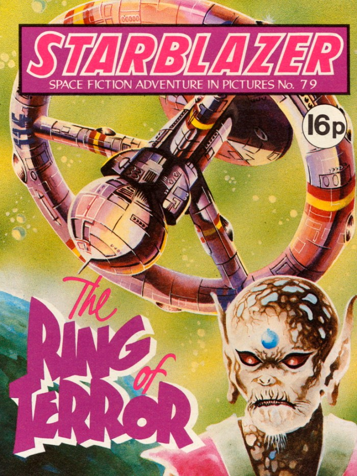 Starblazer 79: The Ring Of Terror