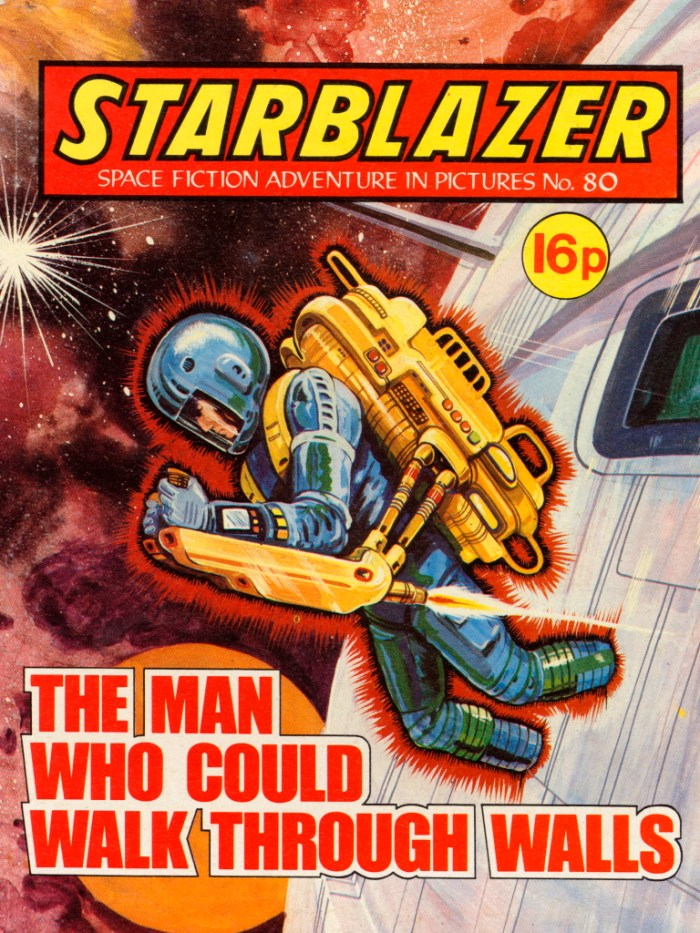Starblazer 80: The Man Who Could Walk Through Walls