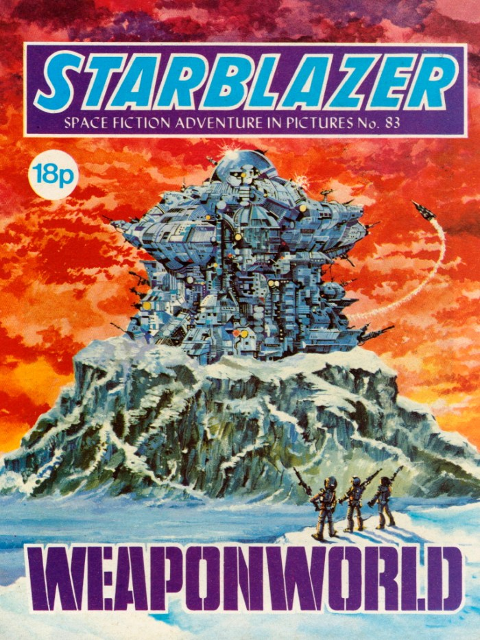 Starblazer 83: Weaponworld