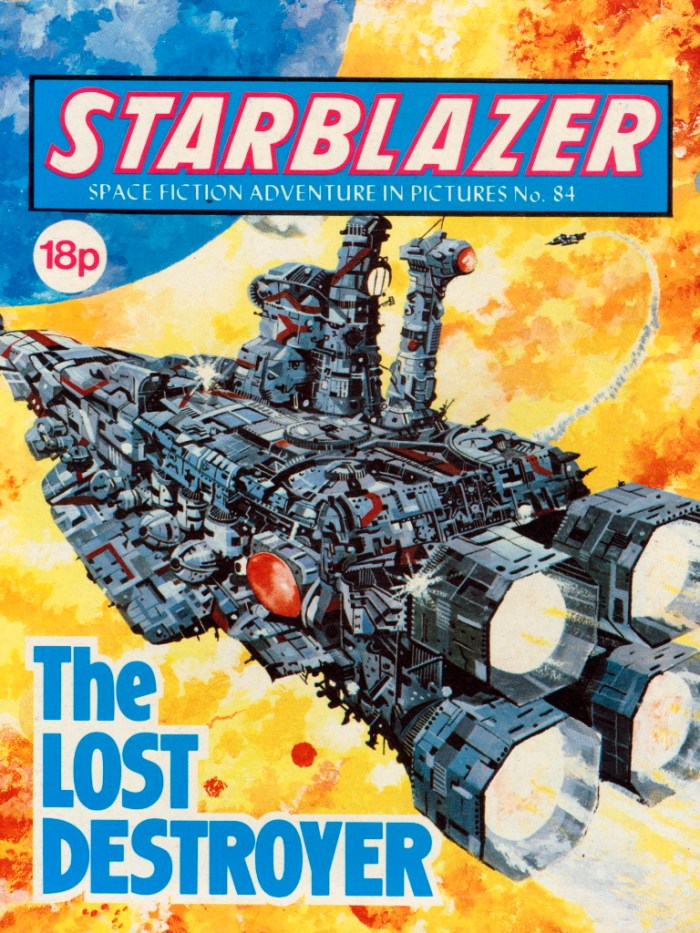 Starblazer 84: The Lost Destroyer