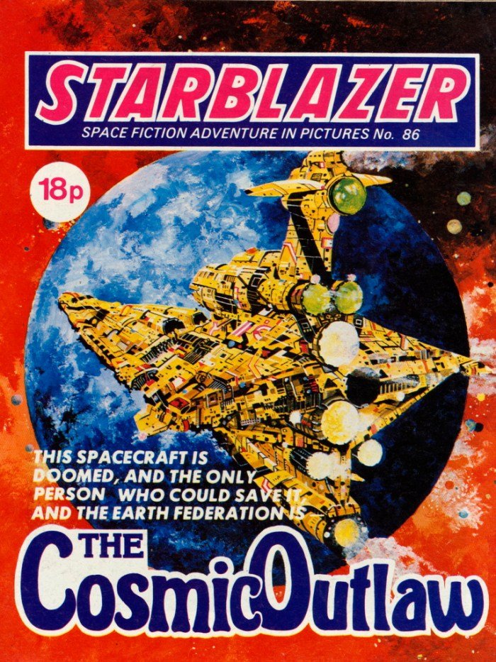 Starblazer 86: The Cosmic Outlaw