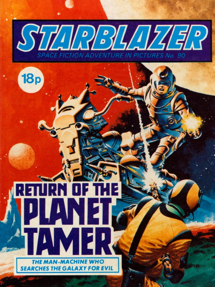 Starblazer 90: The Return of the Planet Tamer