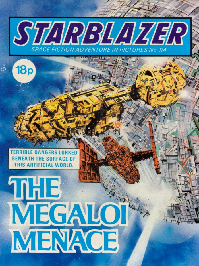 Starblazer 94: The Magaloi Menace