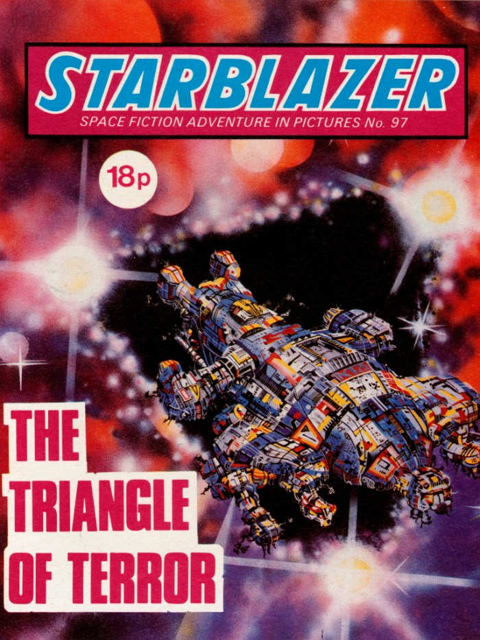 Starblazer 97: The Triangle of Terror