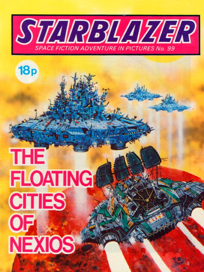 Starblazer 99: The Floating Cities of Nexios