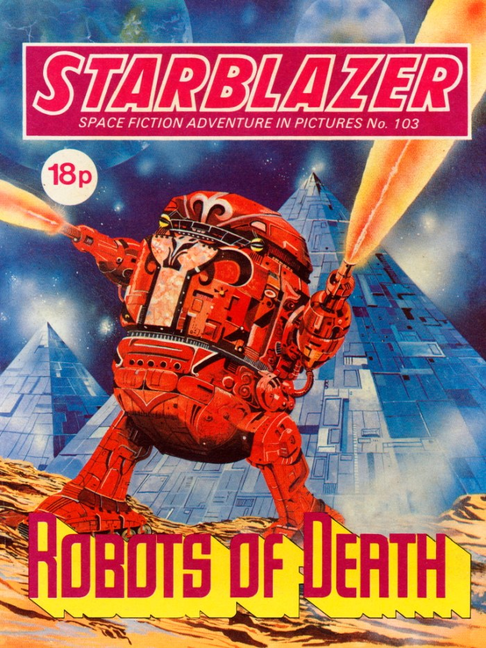 Starblazer 103: Robots of Death