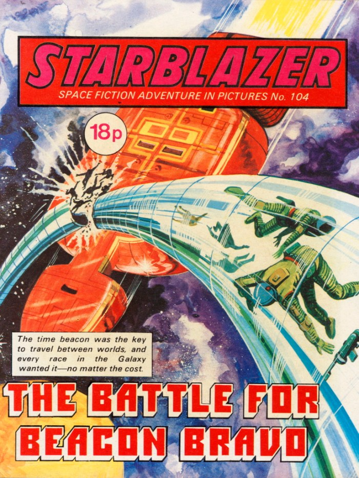 Starblazer 104: The Battle for Beacon Bravo
