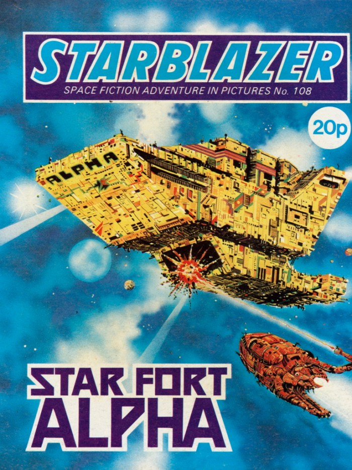 Starblazer 108: Star Fort Alpha